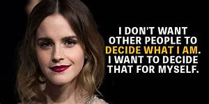 Quotes Archives... Emma Watson Beauty Quotes