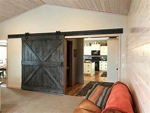 remarkable rough opening for interior barn door gallery With barn door rough opening
