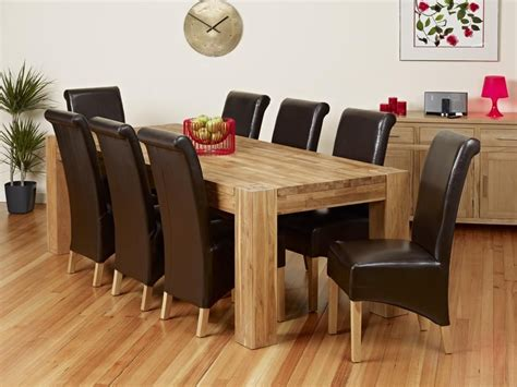 collection of solid oak dining tables and chairs dini on
