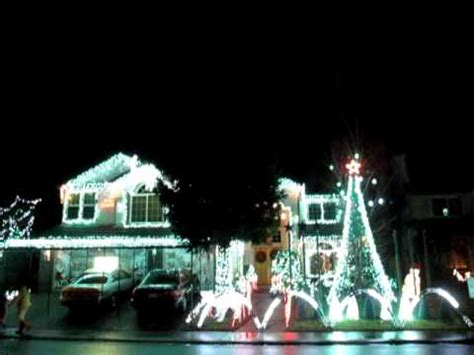 christmas lights display at a house in elk grove ca
