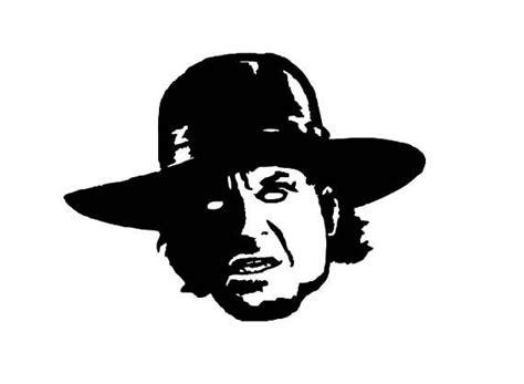 undertaker dead wrestler decal sticker