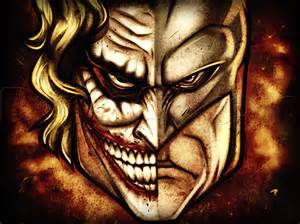 Joker and Batman Drawings Easy