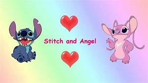 Images Of Cute Stitch And Angel Wallpaper