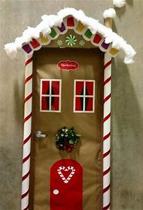 50 Christmas Door Decoration Ideas - Pink Lover