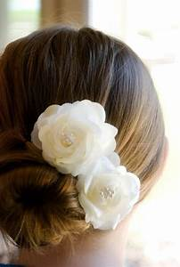 Wedding Hair Accessory Ivory Wedding Hair Flowers