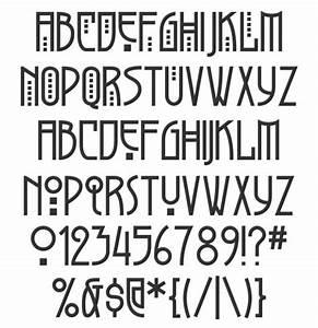 Greyhound art nouveau font | Fontastic | Pinterest ...