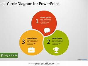 3 Circle Powerpoint Diagram