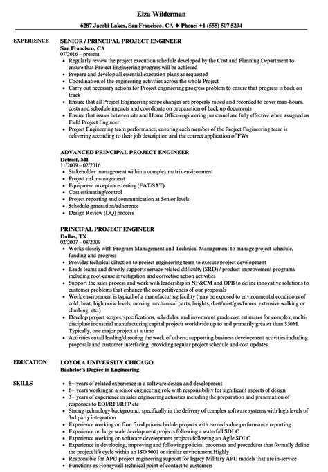 sle resume of an electrical engineer resume format for project engineer 28 images electrical project engineer resume sle resume
