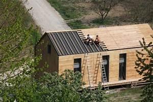 Bardage Façade Maison : bardage toiture bois recherche google house maison inspiration ext rieur int rieur pinterest ~ Nature-et-papiers.com Idées de Décoration
