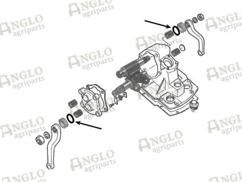 Seal Steering Diagram by Steering Box Outer Seal A58459 Anglo Agriparts