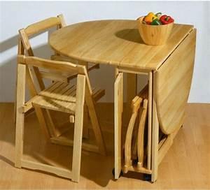 Petite Table En Bois : designs cr atifs de table pliante de cuisine ~ Teatrodelosmanantiales.com Idées de Décoration