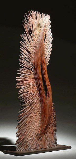 stehle holz design pin boxer auf skulptur