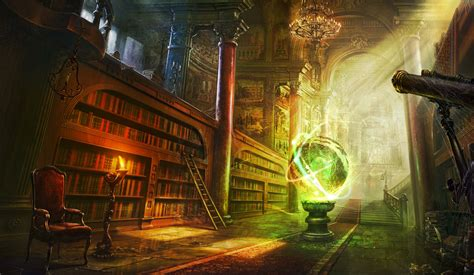 fantasy library background google search great