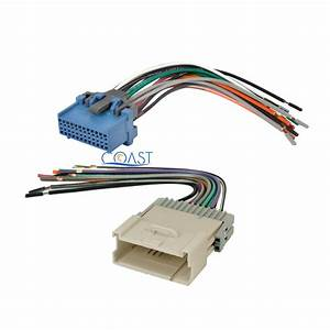 Car Stereo Radio Male Female Wiring Harness Combo For 2004