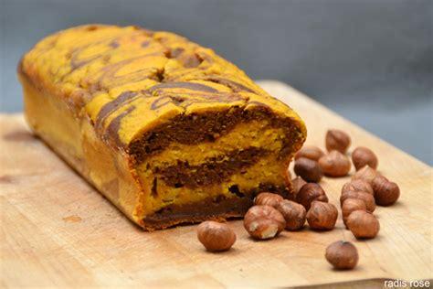 cake l 233 ger marbr 233 potimarron chocolat radis