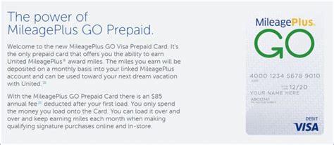 details   mileageplus  visa prepaid card