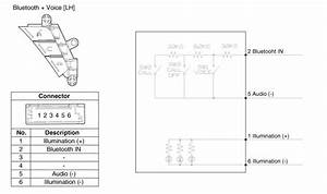 Kia Forte  Audio Remote Control Circuit Diagram