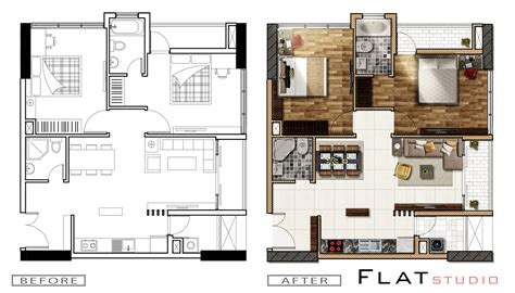 home plan architects architecture plan render by photoshop part 2 ar viz
