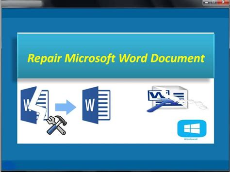 microsoft excel corrupt file recovery tool ms word corrupted file recovery