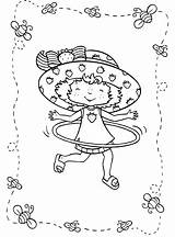 Strawberry Coloring Shortcake Pages Hula Hoop Printable Cartoon Lola Bunny Print Colouring Drawing Printing Charlotte Dessin Getcoloringpages Short Characters Backyardigans sketch template