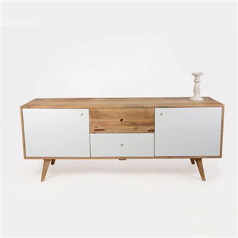 canape d angle 200 cm buffet scandinave bois massif 2 portes 2 tiroirs made in