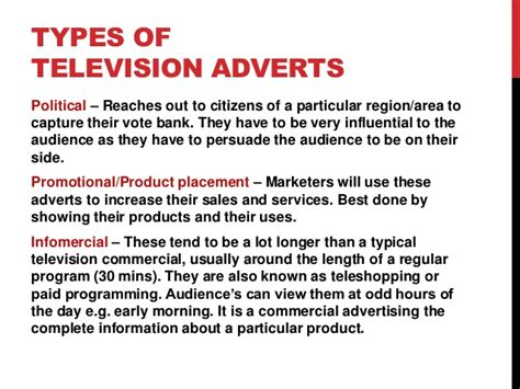 Tv Advert Powerpoint