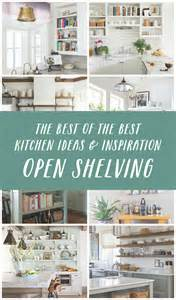kitchen open shelves ideas kitchen open shelving the best inspiration tips the inspired room