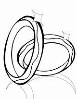 Ring Printable Coloring Pages Clipart Clipartbest Rings sketch template