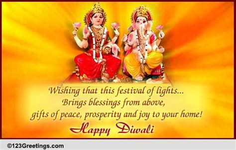 diwali blessings  happy diwali wishes ecards greeting cards