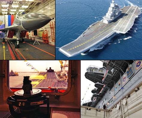 Exclusive Pictures From On Board Ins Vikramaditya