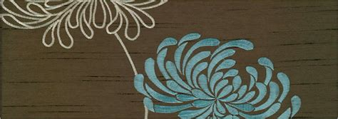 Curtains For Kitchen Door by Luxury Flowers Patterned Shimmering Brown Amp Duck Egg Blue