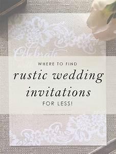 stylish and affordable wedding invitations from ann39s With wedding invitations for less than 1