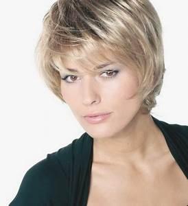 Coupe Cheveux Gris Femme 60 Ans : coiffure courte pour femme de 60 ans ~ Voncanada.com Idées de Décoration