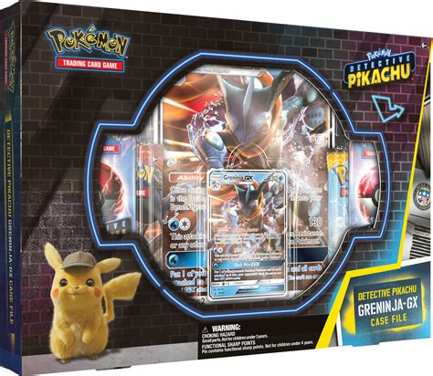 Establecida originalmente para ser distribuida por universal pictures, pokémon: Detective Pikachu Greninja-Gx Case File: Pokemon TCG: 2 Greninja Foil Trading Cards + 7 Booster ...