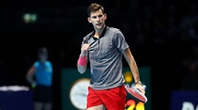 ATP World Tour Finals - Dominic Thiem isn't intimidated by Roger Federer. But Federer's serve? That's another story.