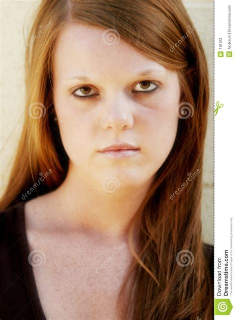 Pretty Teen Frustrated Stock Image Image Of Person