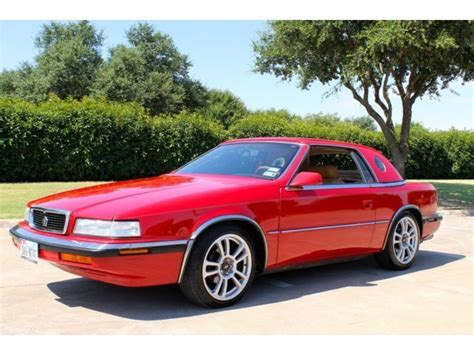 1990 Chrysler TC by Maserati - NO RESERVE for sale ...