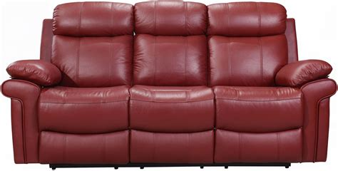red leather reclining sofa shae joplin red leather power reclining sofa from luxe