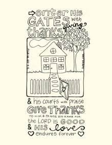 Free Printable Coloring Bible Pages Psalm 100