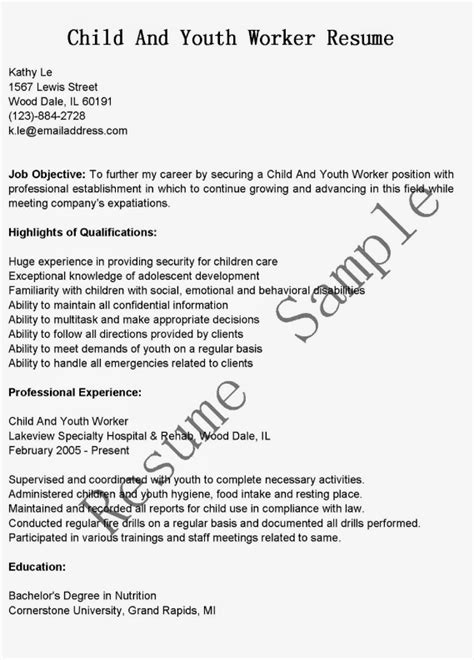 child  youth worker resume sample ipasphoto