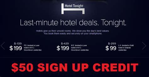 hotel tonight 50 sign up bonus loyaltylobby
