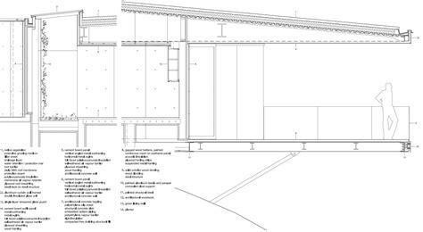 flachdach holzkonstruktion detail tula house auf quadra island flachdach wohnen baunetz wissen