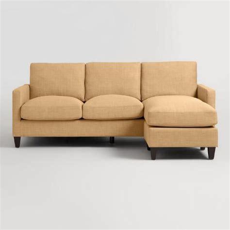 World Market Abbott Sofa by Maize Textured Woven Abbott Sofa World Market