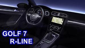Golf 7 R Line : 2017 volkswagen golf 7 r line interior youtube ~ Medecine-chirurgie-esthetiques.com Avis de Voitures
