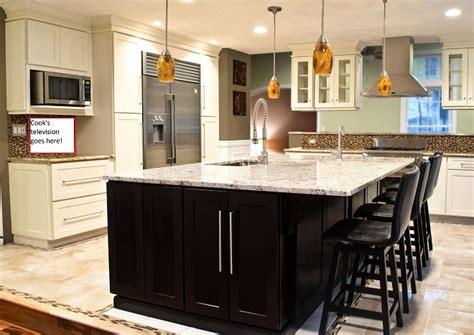 centre islands for kitchens bowl kitchen center island custom bar