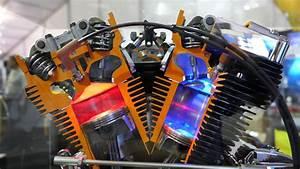 Working Model Of A Harley V