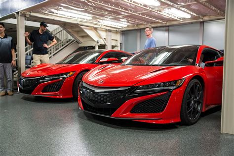 2016 acura nsx caught on video in the wild