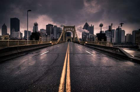 city road wallpaper desktop background landscape