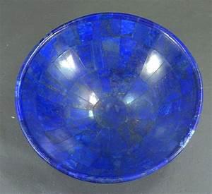 Royal Blue Lapis Lazuli : hand crafted royal blue lapis lazuli bowl 150 x 50 mm 390 gr catawiki ~ Markanthonyermac.com Haus und Dekorationen