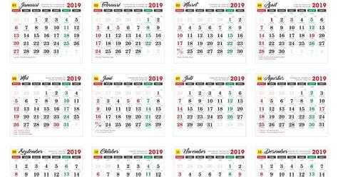 Kalender 2019 Cdr Free